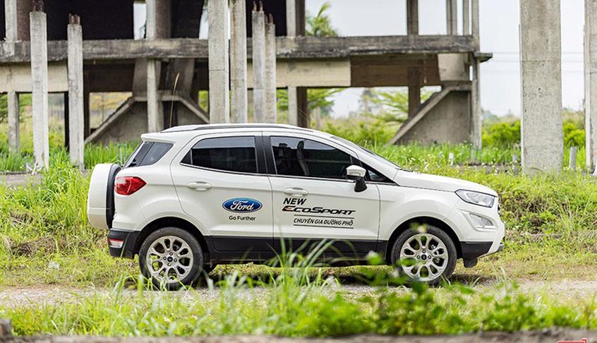 Xe Ford Ecosport là một trong những mẫu xe ô tô nằm trong phân khúc xe thể thao được mọi người rất yêu thích