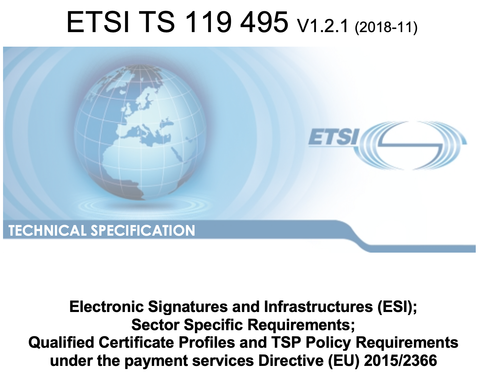 The new ETSI standard for eIDAS qualified certificates