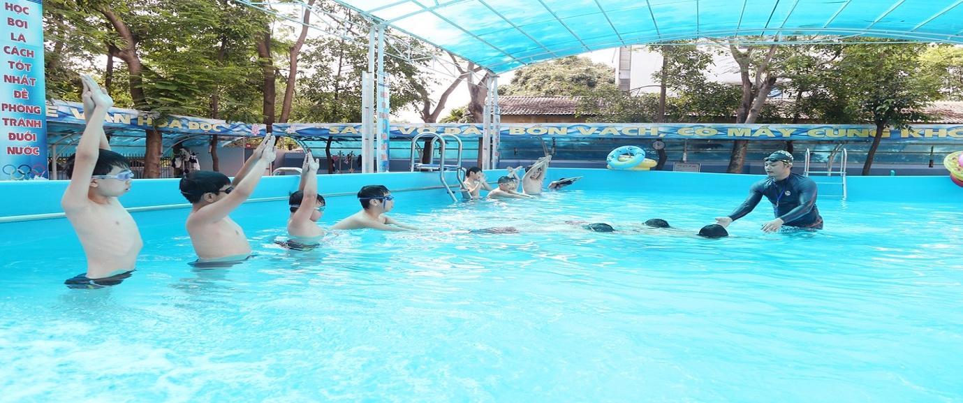 Kết quả hình ảnh cho trung tâm dạy bơi sun swimming