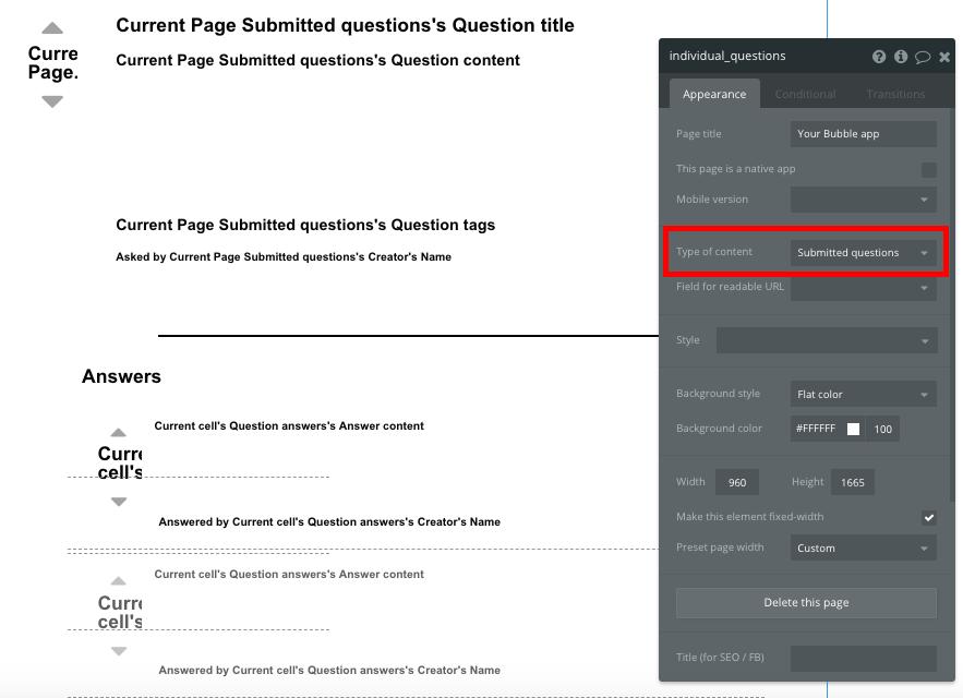 Criar fórum online Stack Overflow - Exibindo conteúdo dinâmico