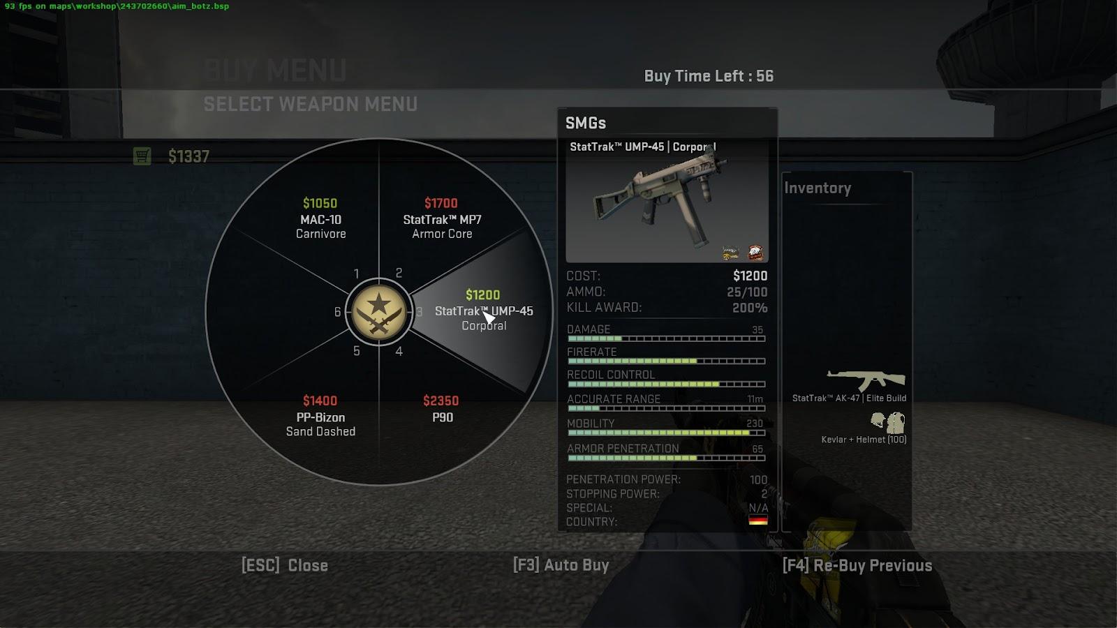 CS:GO suggestions: A new assault rifle | Dot Esports