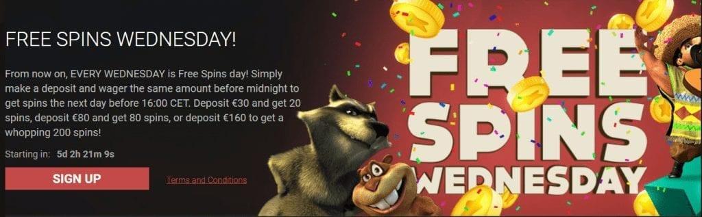Bitstarz FreeSpins Wednesdays bonuses
