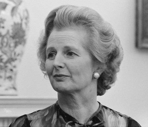Margaret Thatcher at the height of her power as prime minister.
