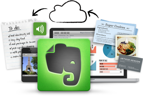 work smart by using evernote for weekly task lists