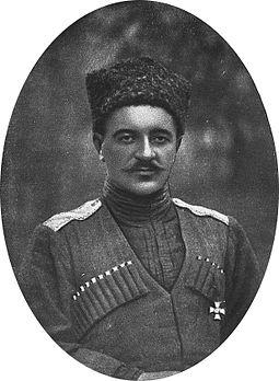 Генерал Віктор Покровський народився в Нижньому Новгороді (не козак), у березні 1918-го Кубанська Рада присвоїла йому звання генерал-майора та призначила командувачем Кубанської армії, що увійшла до складу Добровольчої армії