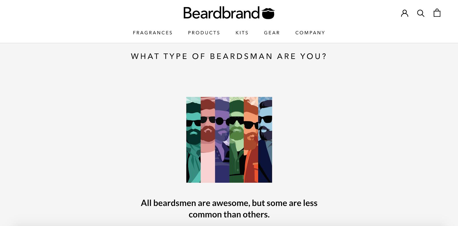 Beardbrand Screenshot