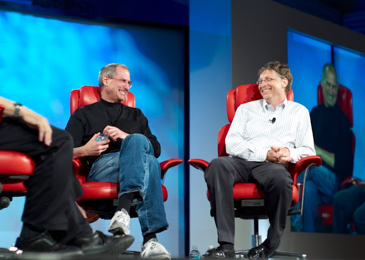 Steve Jobs, Bill Gates, last interview together