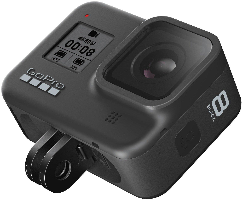 Экшн-камера GoPro HERO8 Black с видимыми ушками