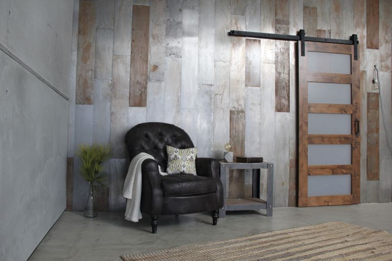 Oklahoma City commercial barn door