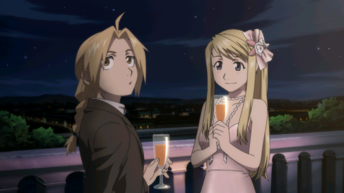 edward and winry | Tumblr