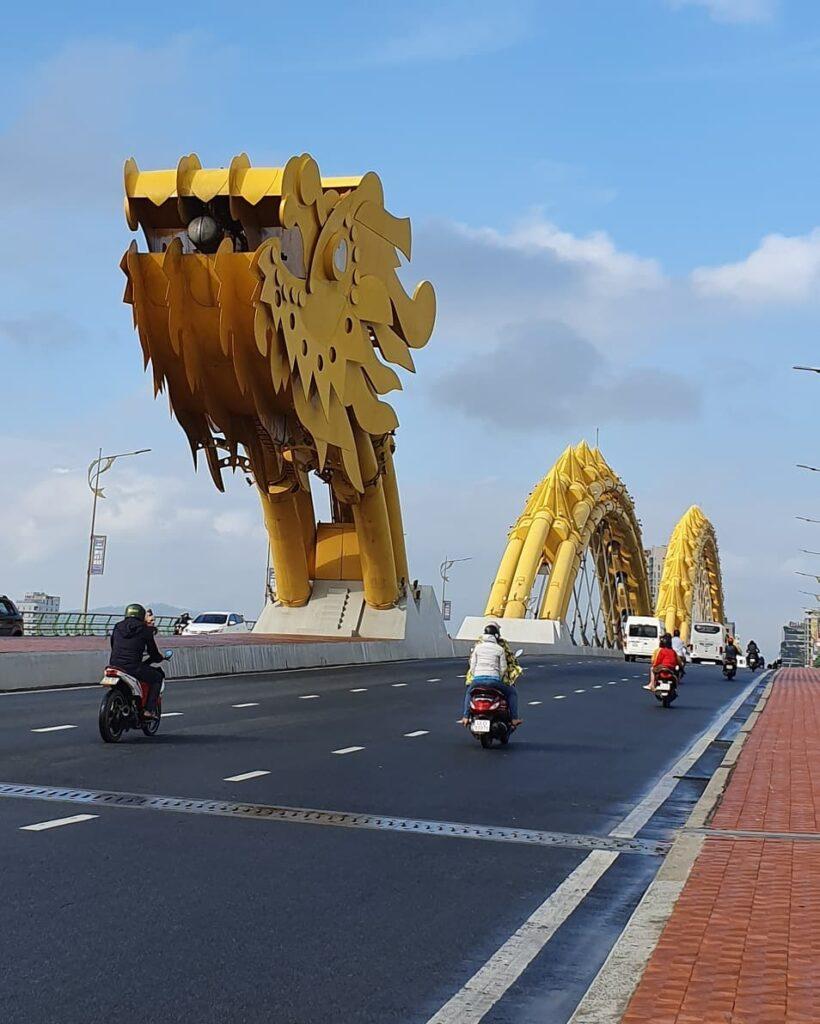 Cây cầu rồng Đà Nẵng cây cầu đặc trưng người dân nơi đây