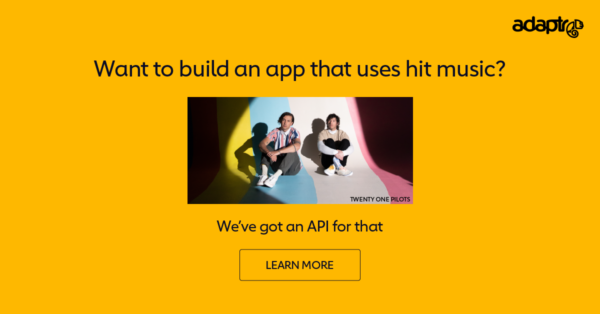 Adaptr. We've got an API for that.