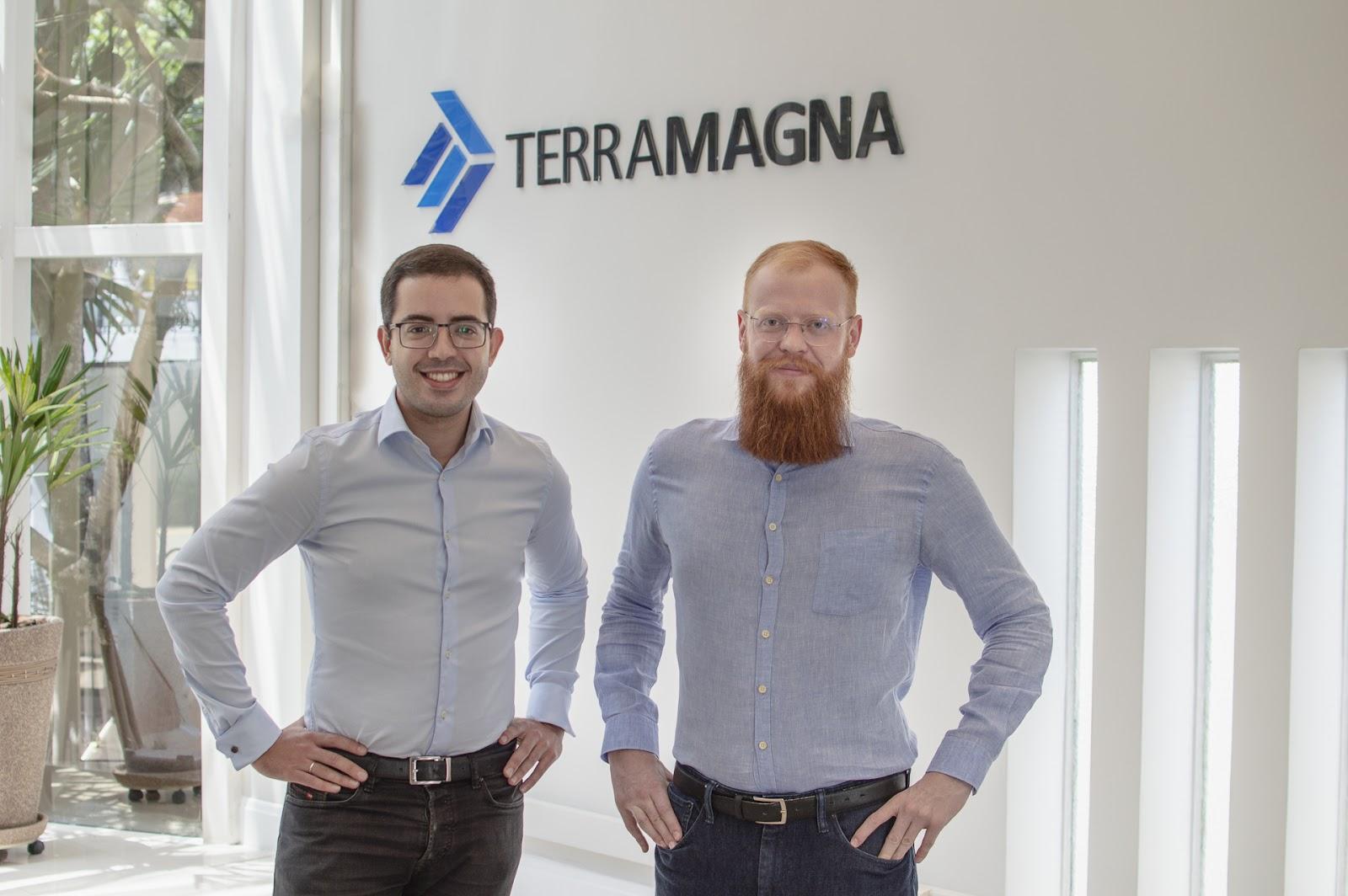 Rodrigo Marques e Bernardo Fabiani, executivos da TerraMagna, esperam oferecer até R$ 500 milhões em crédito no ano de 2021 a partir de fundos privados. (Fonte: TerraMagna/Divulgação)