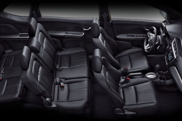 Honda BR-V's interior