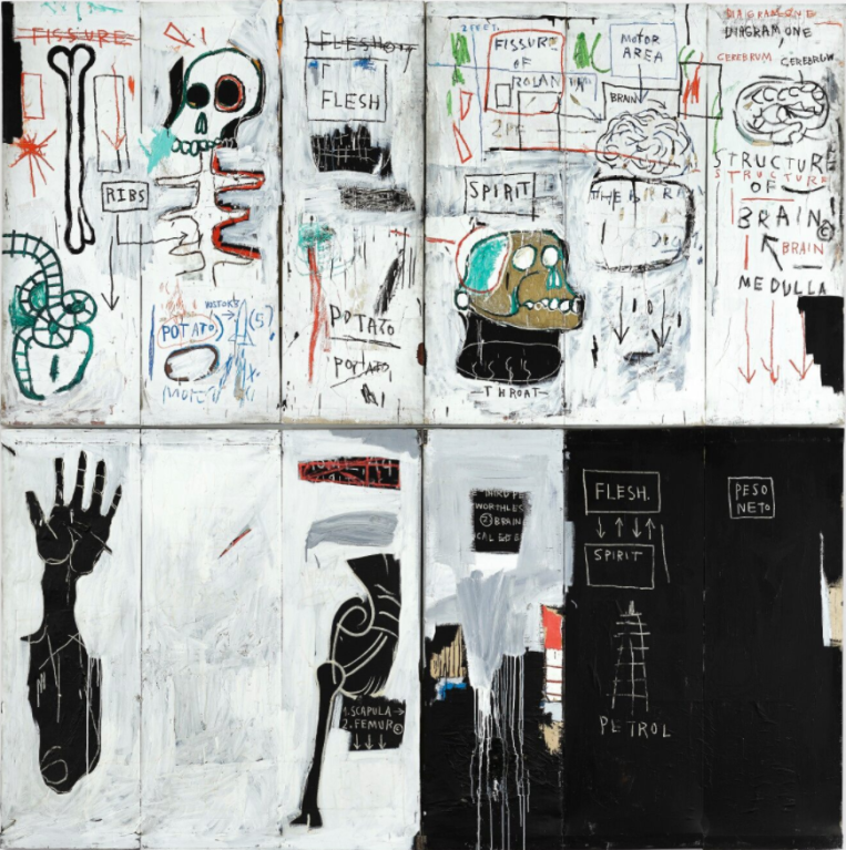 Самые известные работы Жан-Мишеля Баскии (часть I)