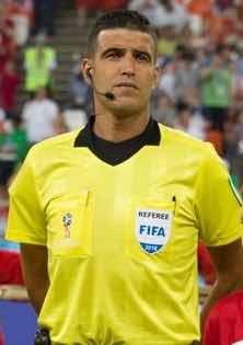 The drainage system at the Enyimba international stadium is the best i have seen as a referee-  Mehdi Abid Charef