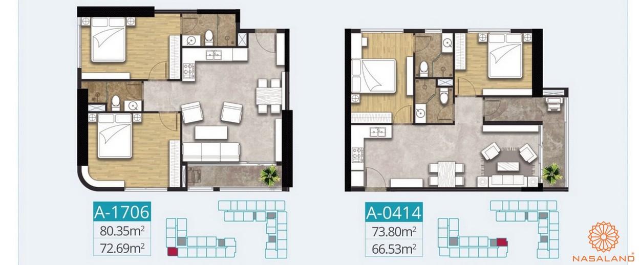 Mỗ căn hộ đều có những thiết kế riêng biệt phù hợp với mọi không gian
