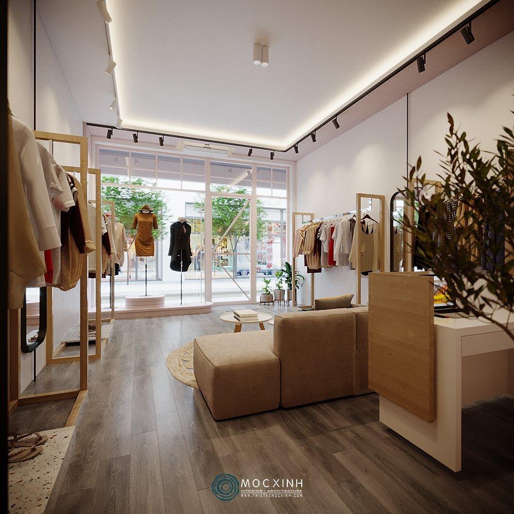 Thiết kế nội thất shop thời trang tại Hà Nội