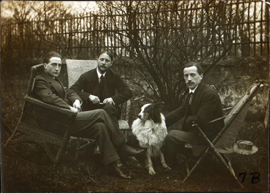 Les frères Duchamp : Marcel Duchamp, Jacques Villon et Raymond Duchamp-Villon
