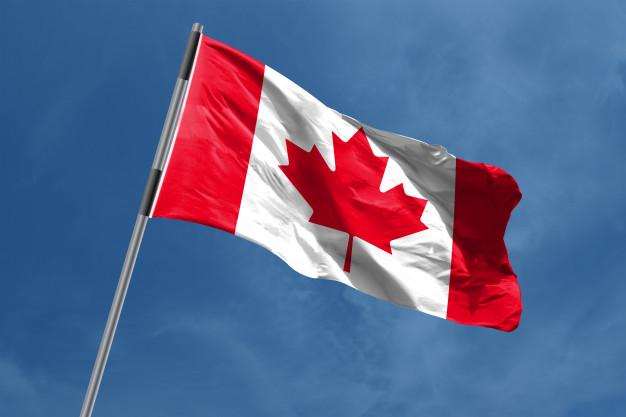 Premium Photo   Canada flag waving