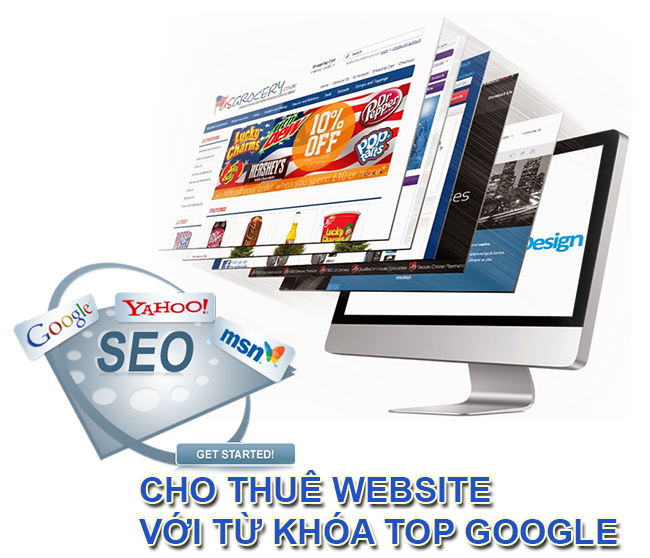 Cho thue website top 10 google