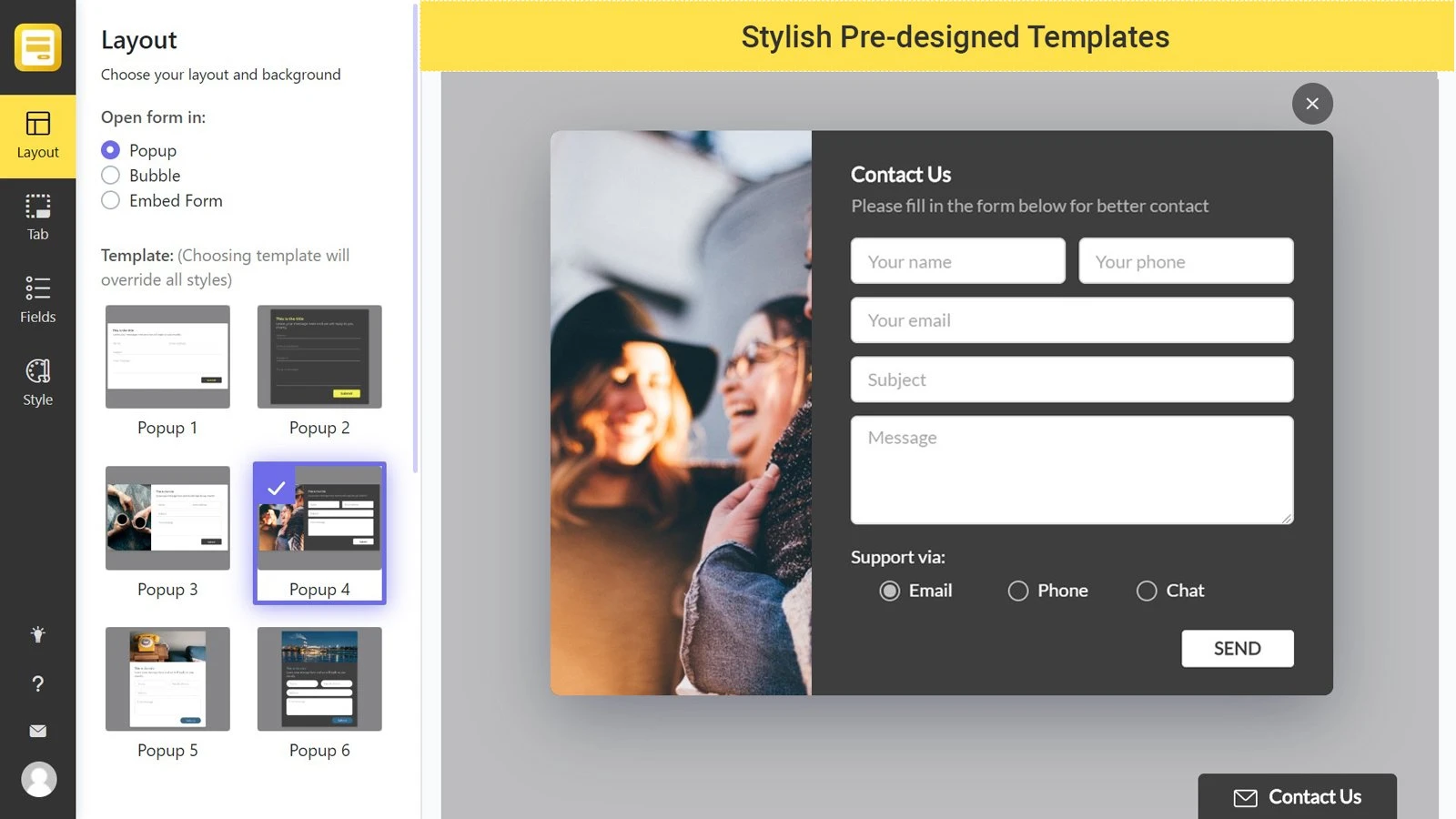 ideal Shopify contact form app