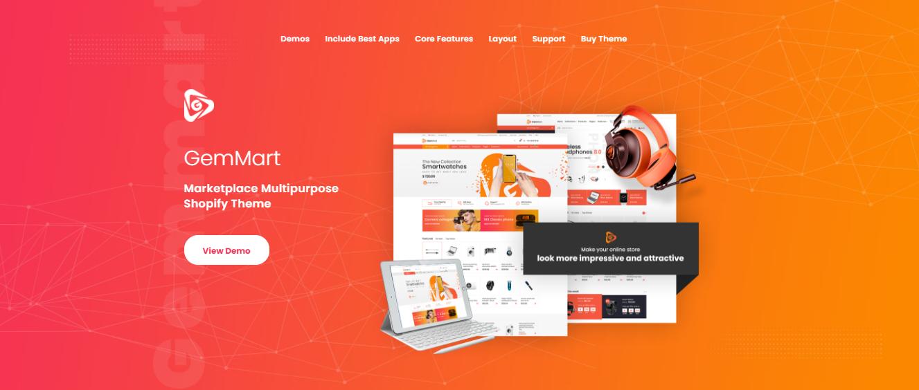 GemMart - premium Shopify theme