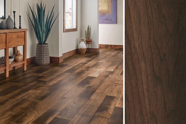 Walnut wood flooring – elisdecor.com