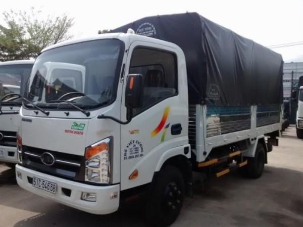 Xe tải veam vt200 2 tấn thùng dài 4m35 vào thành phố giá 390 triệu