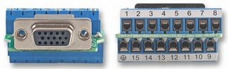 VGA to Screw Terminal Module - MCM Part #: 83-12821