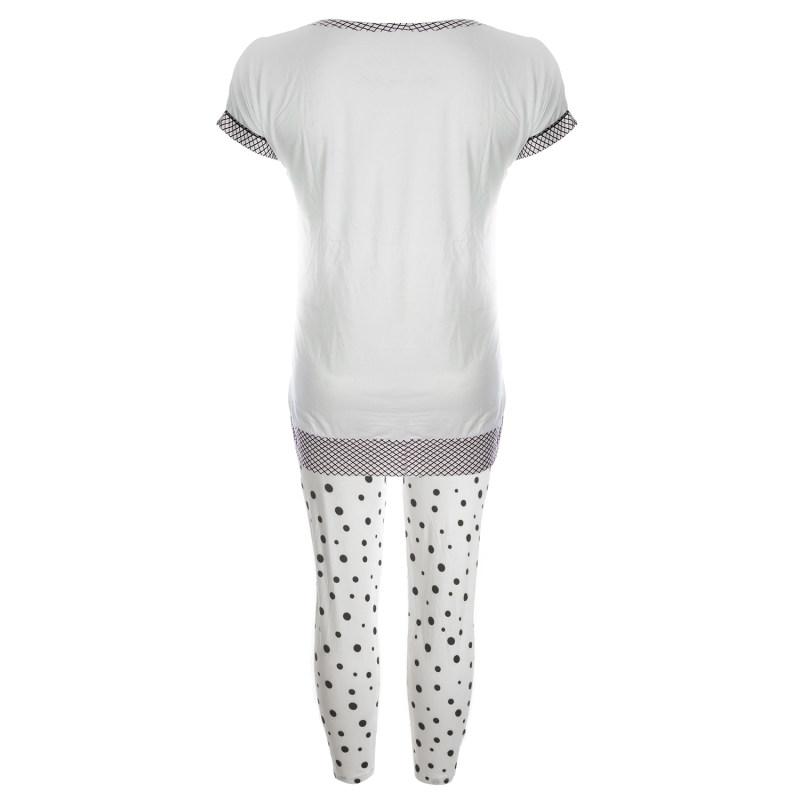 ست تی شرت و شلوار زنانه کد 308