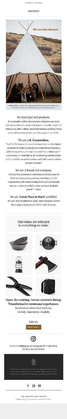 Barebones email example