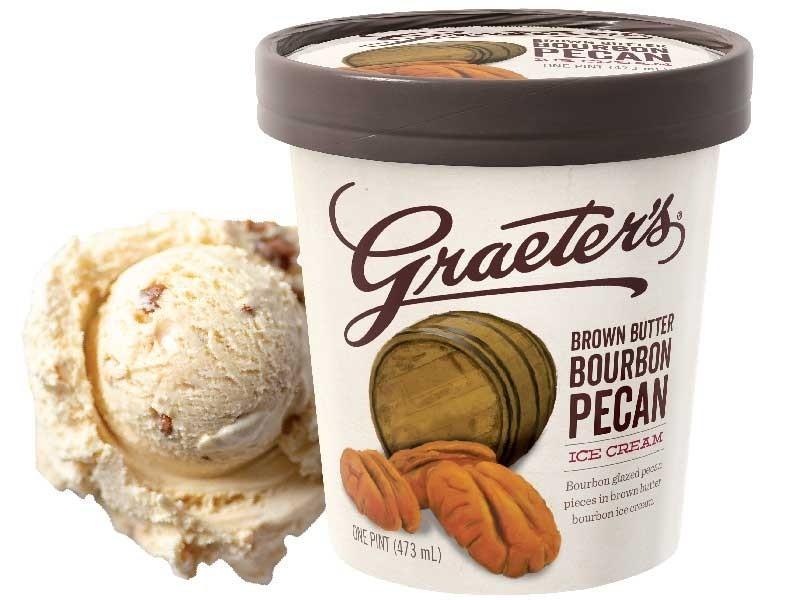 Graeter's Brown Butter Bourbon Pecan Ice Cream