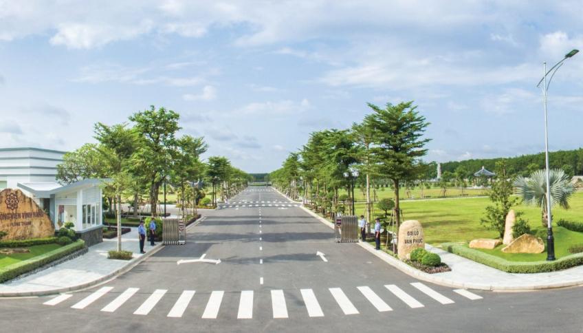 Một góc của công viên Vĩnh Hằng - Long Thành