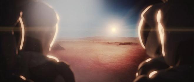 Đây có thể là khung cảnh mà người đầu tiên đặt chân lên sao Hỏa nhìn thấy