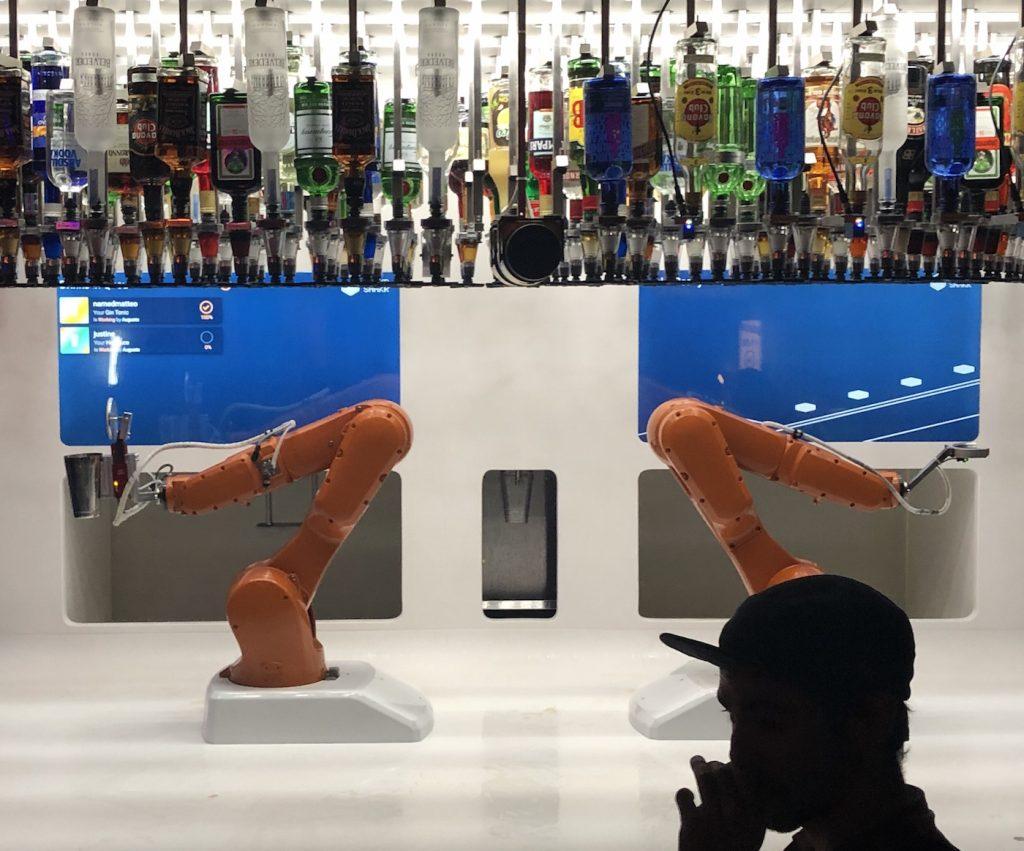 bras robotique automatisé