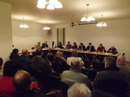 Einwohnerversammlung in Schönfeld zum Uranproblem im Trinkwasser am 04.03. 2013 (Bild: Archiv)