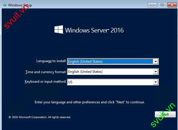 install windows server 2016 (1)