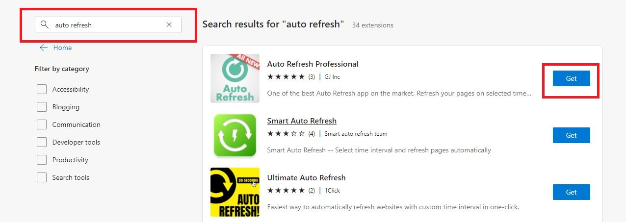 """Look for add-ons that """"auto-refresh."""" in the exact URL"""