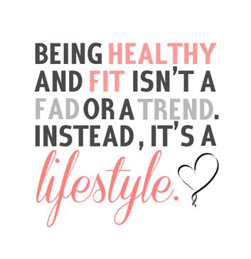 Being healthy and fit isn't a fas or a trend. Instead, it's a Lifestyle! www.innovativehealthfitness.com