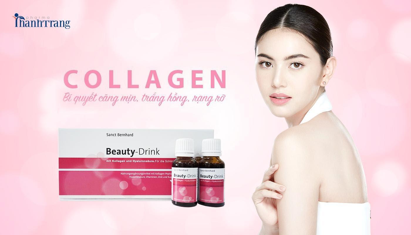 bổ sung collagen nước nhiều lợi ích tuyệt vời