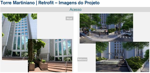 Torre Martiniano – Retrofit (Imagens do projeto).