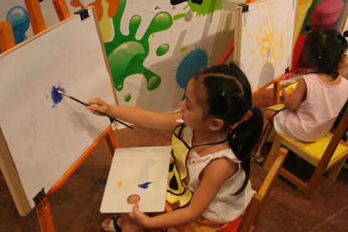 Lớp dạy vẽ thiếu nhi tại TPHCM