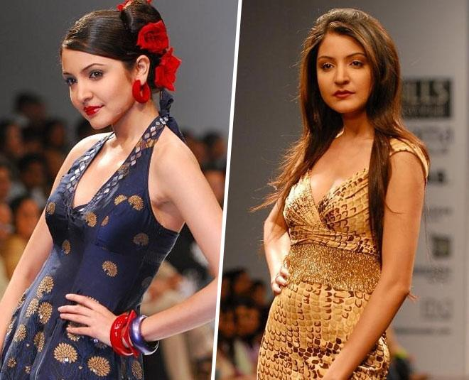 These Rare Pictures Of Anushka Sharma During Her Modelling Days ...