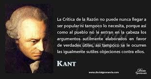 Sociedad De Filosofía Aplicada - Frase de Inmanuel Kant. Imagen de Docta  Ignorancia   Facebook