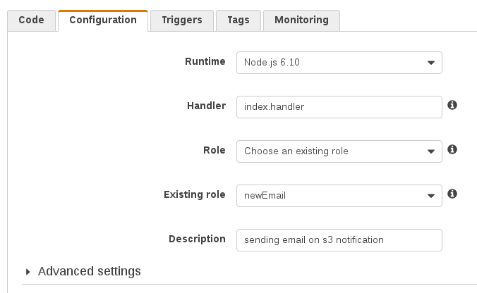 Using AWS Lambda to Send SES Notifications Triggered by S3