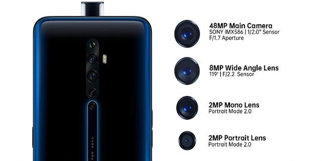 كاميرا Oppo Reno 2F