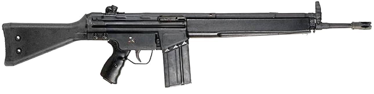фото штурмовой винтовки Heckler Koch HK91