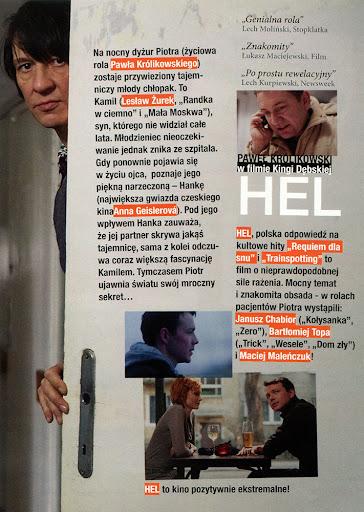 Tył ulotki filmu 'Hel'