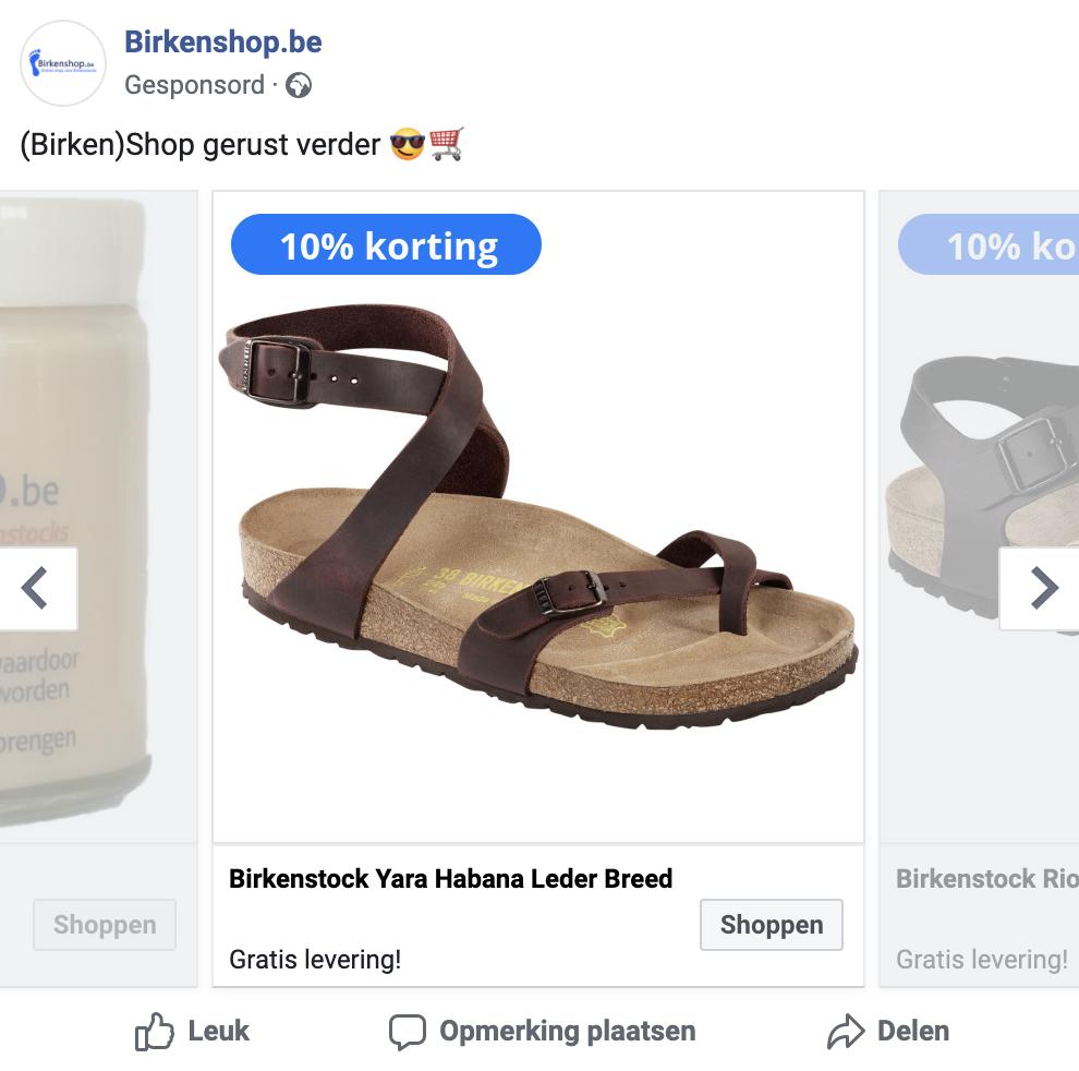advertentie facebook ads